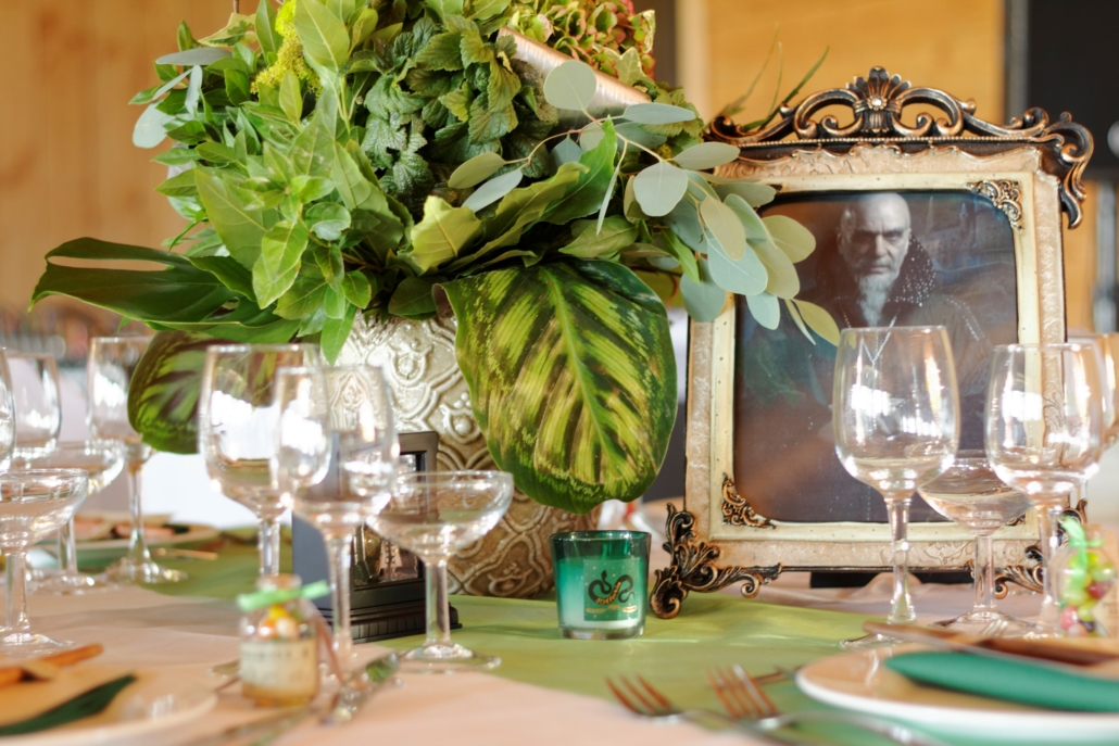Photo déco table mariage